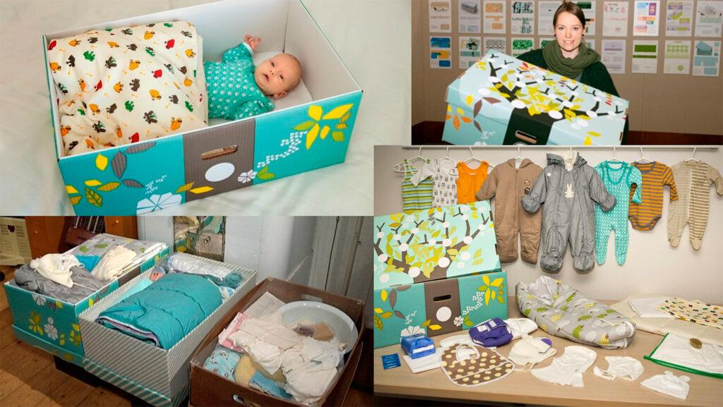 Caja Maternidad Finalandia